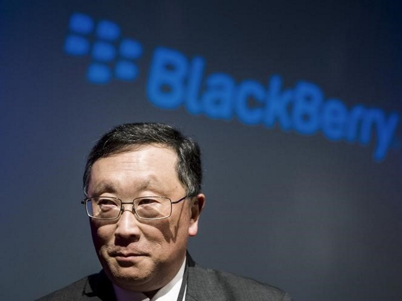 BlackBerry CEO Sees Company Patents as Key to Turnaround Strategy