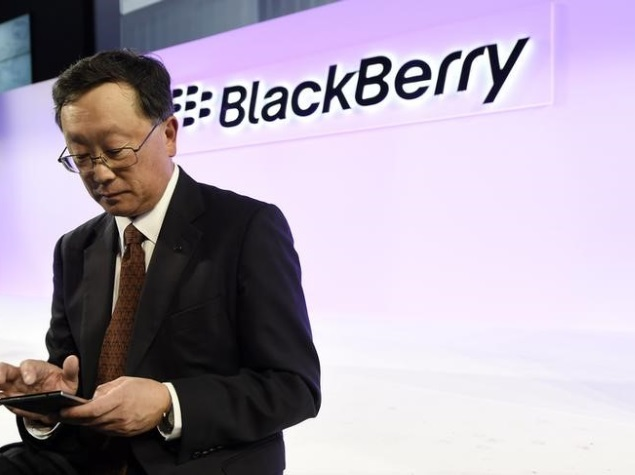 BlackBerry CEO Believes Apple and Others Should Be Forced to Make BlackBerry Apps
