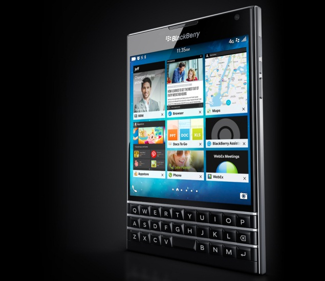 BlackBerry Passport Square-Shaped Smartphone Price Confirmed as $599