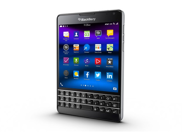 CES 2015: BlackBerry Passport Redesigned Exclusively for AT&T