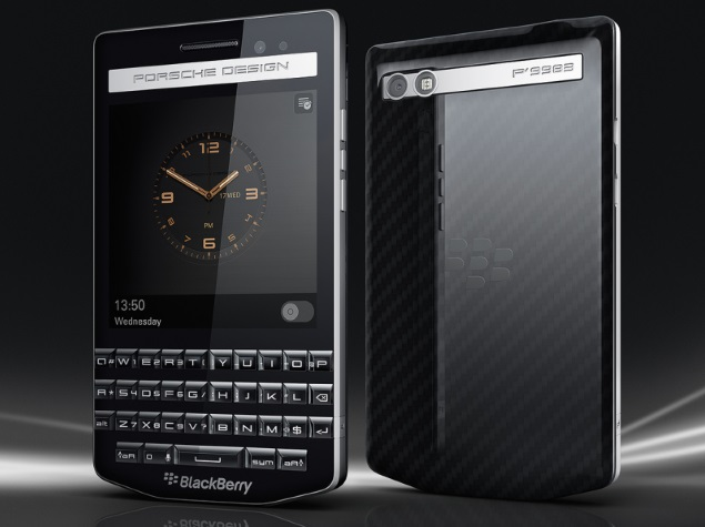 BlackBerry Porsche Design P'9983 Premium Qwerty Smartphone Launched