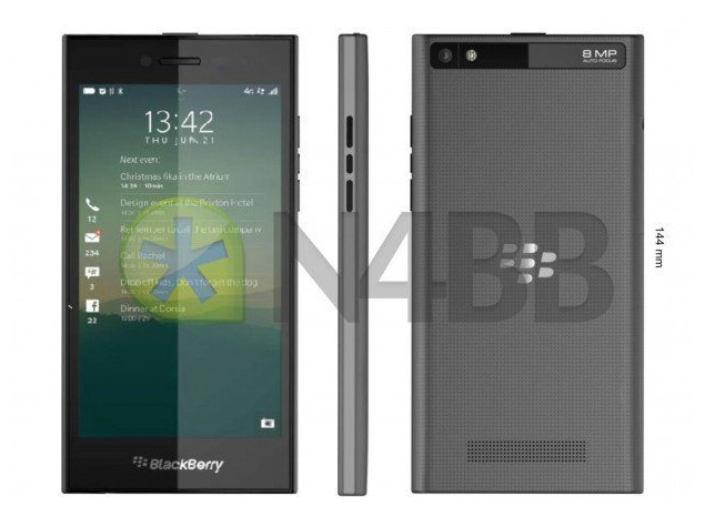 Alleged BlackBerry 'Rio' Z20 Smartphone Spotted With