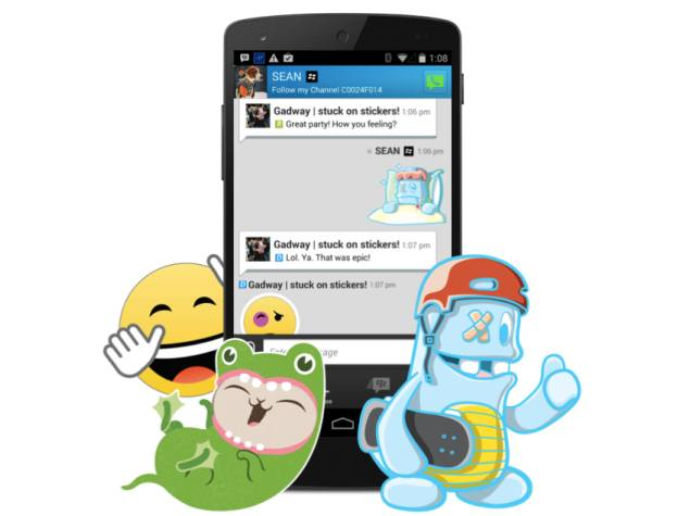BlackBerry Messenger gets sticker support and new BBM shop