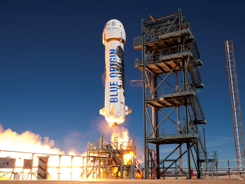 Jeff Bezos' Space Company Successfully Re-Flies, Lands Rocket for the Second Time