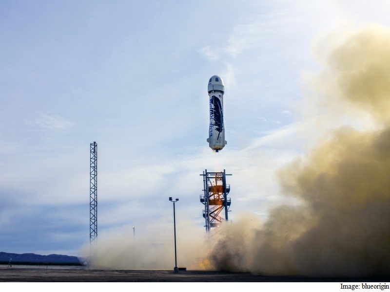 Amazon CEO Bezos' Blue Origin Successfully Lands Reusable Rocket