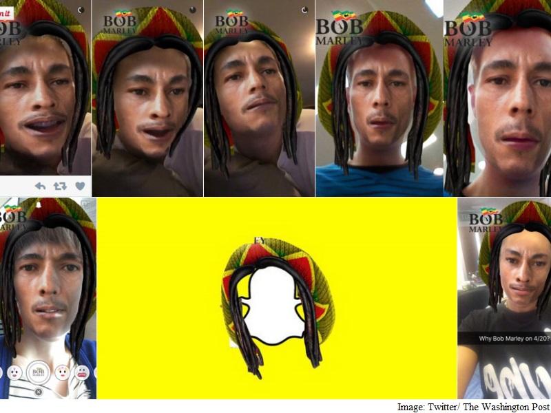 It's Not Just Snapchat's Bob Marley Lens: Every Face-Swap App Has a 'Blackface' Option