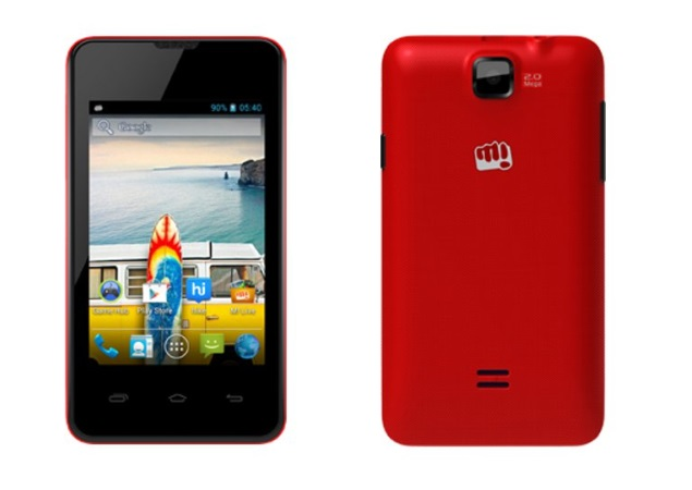 Micromax Bolt A58 with Android 4.2 available online for Rs. 5,499