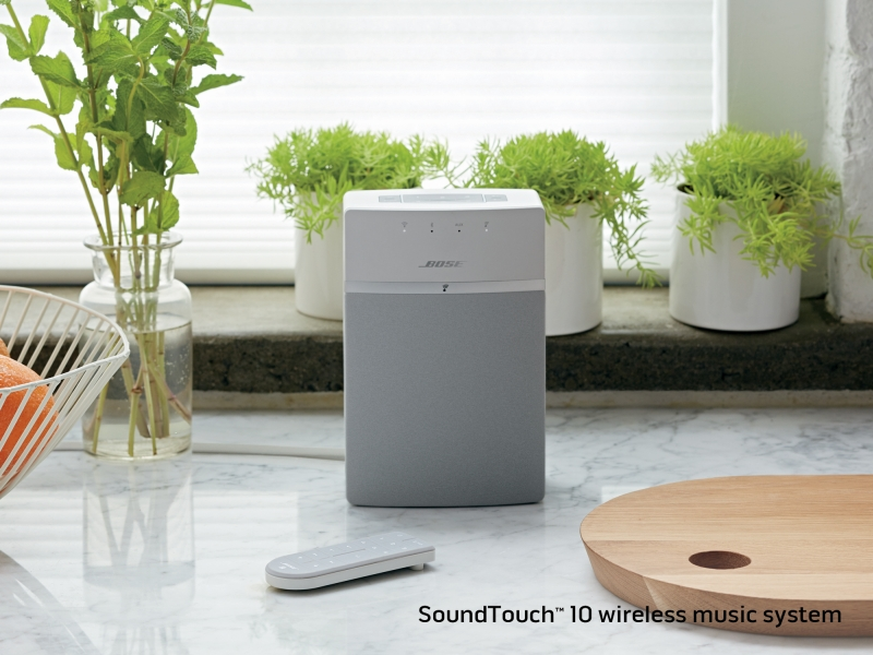 Bose India Launches SoundTouch 10; ST Line Discovers Bluetooth