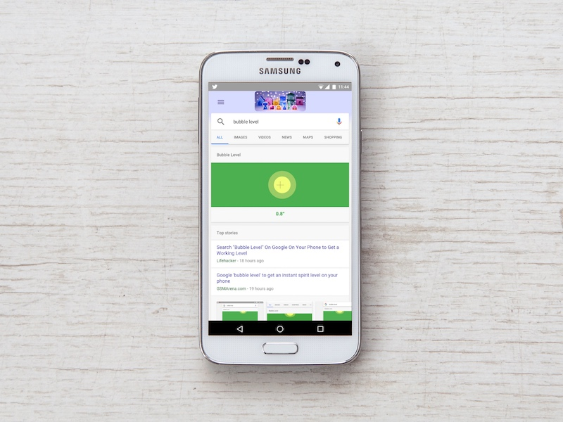 Google 'Bubble Level' on Your Phone to Turn It Into One