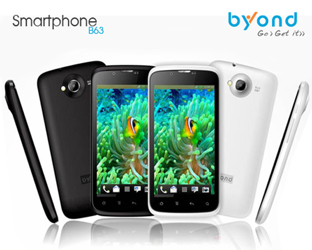 Byond launches B63 dual-SIM Android 4.1 smartphone for Rs. 12,499