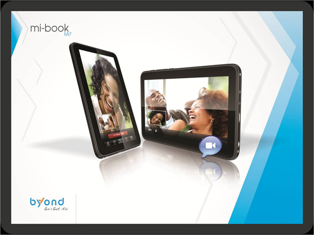 Byond unveils 7-inch Mi-Book Mi7 Android 4.0 tablet for Rs. 11,499