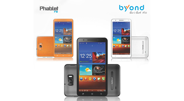 Byond launches Phablet PIII with huge 6-inch display, Android 4.0