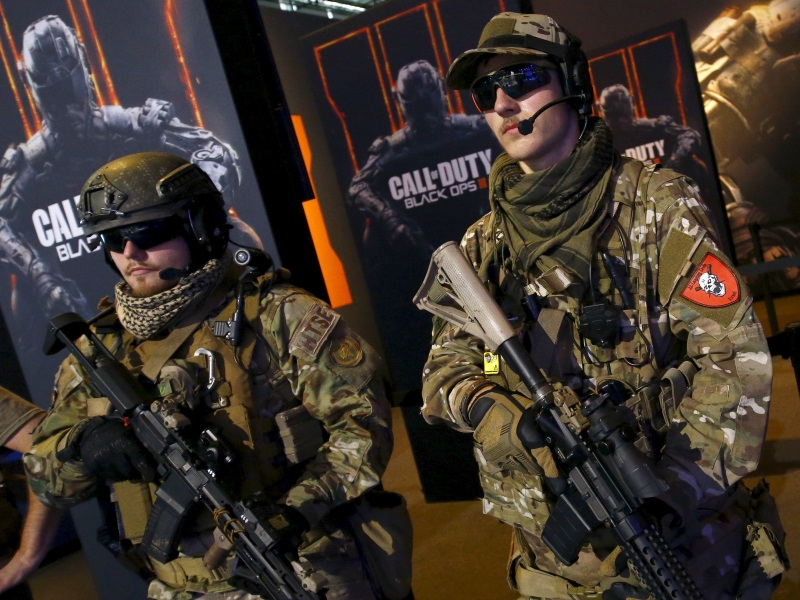 Activision Posts Strong Results on Demand for Call of Duty: Black