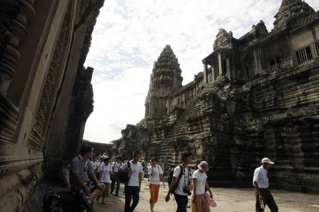 Google Street View gets virtual tour of Cambodia's Angkor Wat