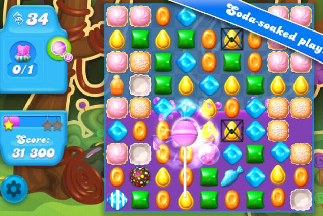Candy Crush Saga's Soda-Inspired Sequel Gets Soft-Launched on Android