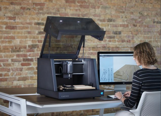 Carvey is a 3D Carving Machine for the Designer in You