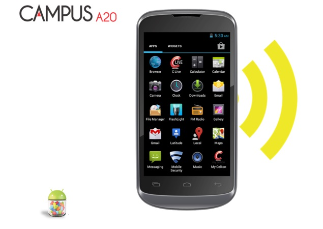 Celkon Campus A20 with Android 4.2 launched for Rs. 5,299