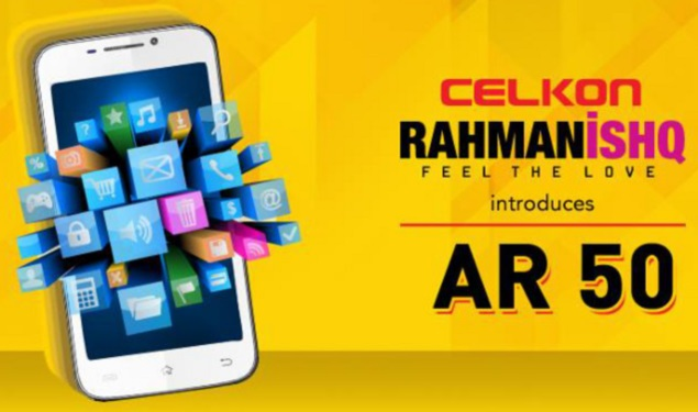 Celkon RahmanIshq AR50 with Android 4.2 launched at Rs. 8,499