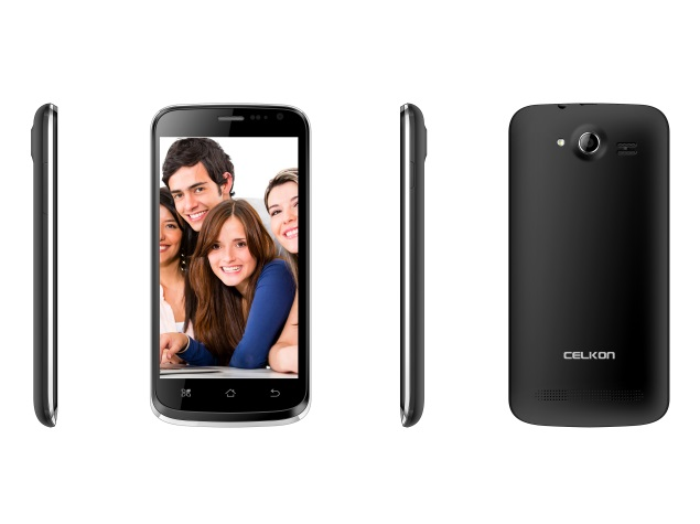 Celkon Campus A125 with 3G support, 4.5-inch display launched at Rs. 6,299