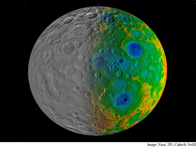 Missing Craters on Dwarf Planet Ceres Intrigue Scientists