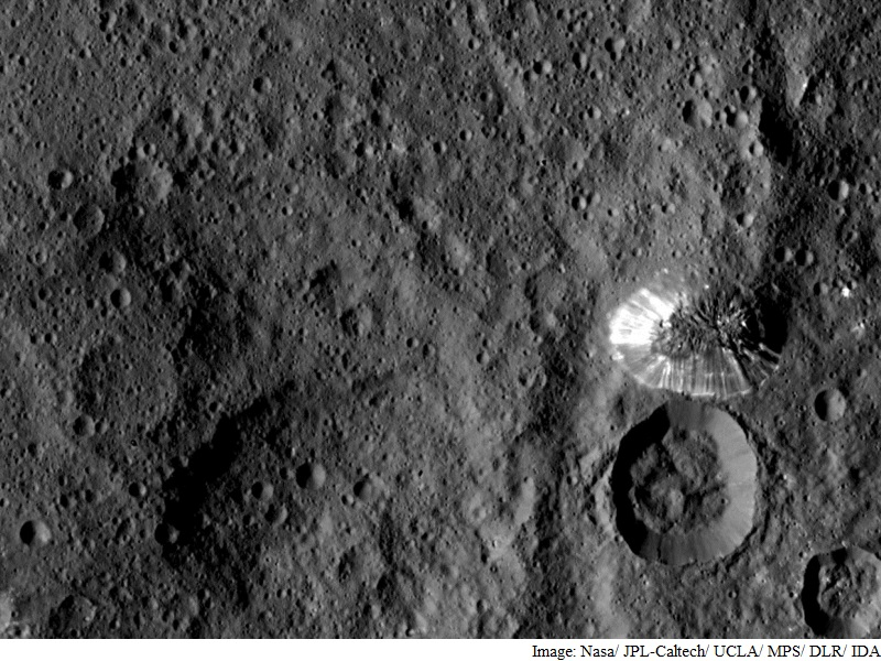 Nasa's Dawn Probe Sends Back Stunning Images of Dwarf Planet Ceres
