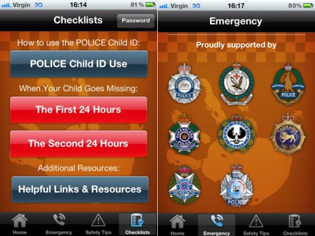 App to Help Find Missing Children Launched by Australian Police
