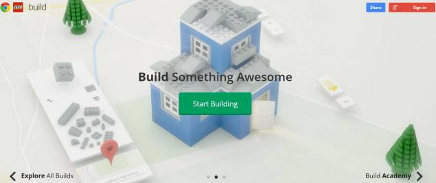 Google lets users build with Legos in Chrome