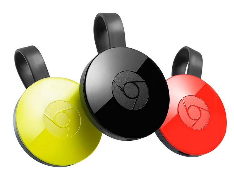 Google Launches New Chromecast and Chromecast Audio