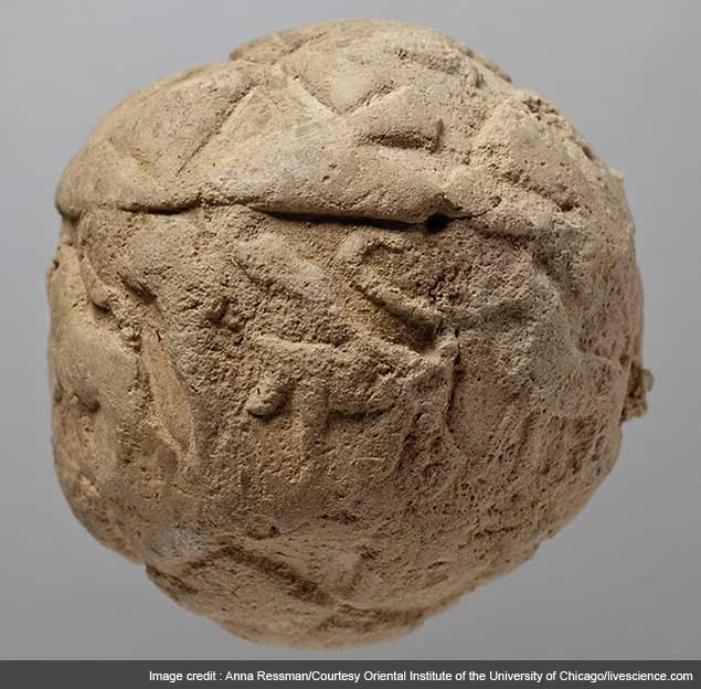 First data storage system more than 5,000 years old