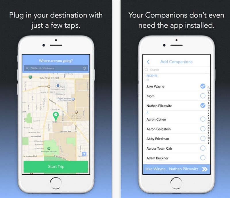 Walking Home Alone Get Virtual Company With This App