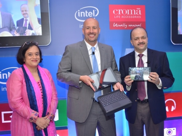 Croma and Intel Launch Windows 8.1 Tablet and 2-in-1 Hybrid in India