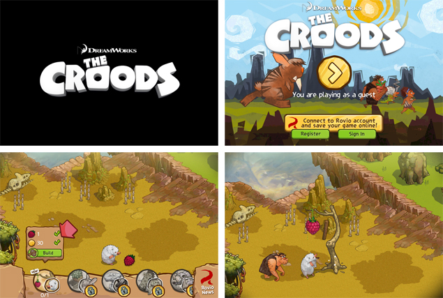 The Croods for iOS app review