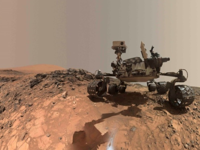 Curiosity Measures Seasonal Patterns in Mars Atmosphere