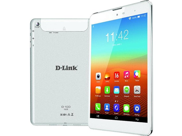 D-Link D100 Voice-Calling Tablet Now Available Online at Rs. 12,534