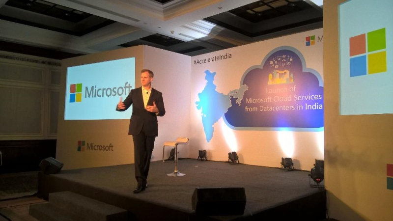 Microsoft Launches Cloud Services Powered by Data Centres in India