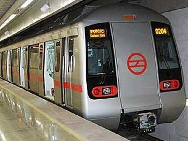 Delhi Metro Gets Its First Driverless Train