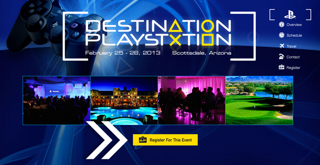 Could Sony's PlayStation 4 debut at Destination PlayStation?