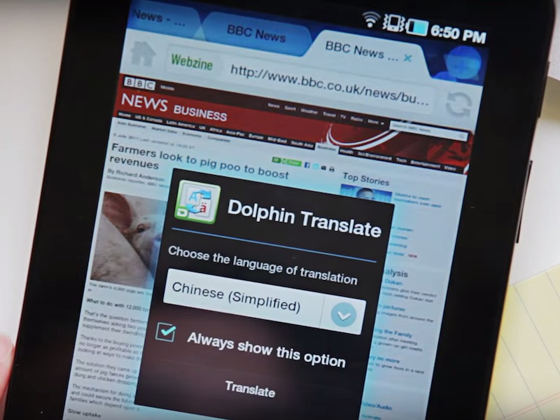 'Popular Android Browsers Dolphin and Mercury Are Vulnerable'