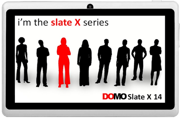 DOMO Slate X14 tablet with Android 4.2 launched for Rs. 4,990