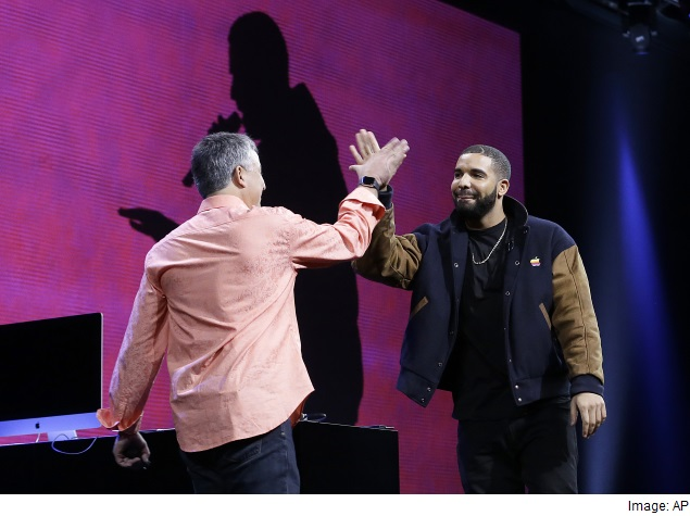 Apple's New Musical Faces - Drake and the Weeknd