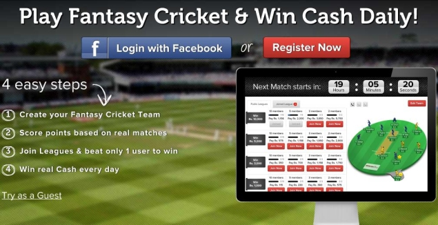 Have Fun Following Cricket World Cup 2015 With Online Fantasy