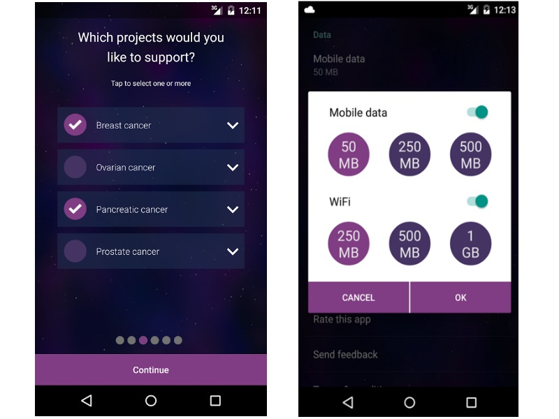 Vodafone's DreamLab App Lets Android Users Help Find Cure to Cancer
