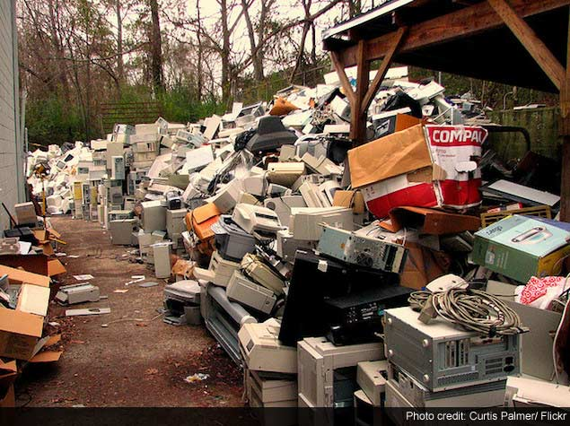 Electronic Waste Is Piling Up: How Can This Change?