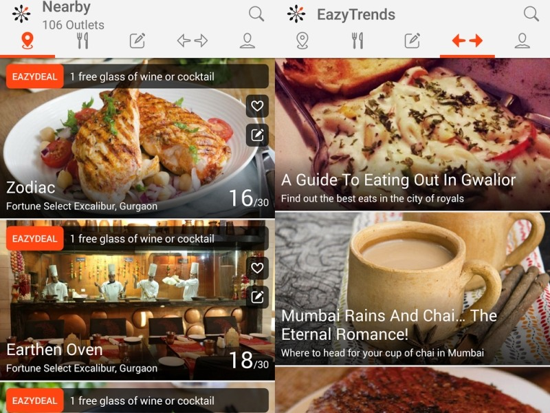 EazyDiner App Review: Listings, Bookings, and Restaurant Deals