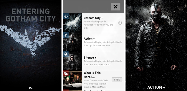The Dark Knight Rises Z+ is a must have app