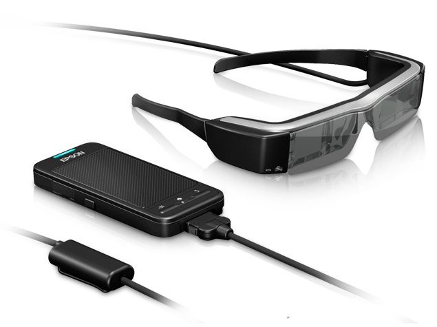 Epson Launches New Version of its Augmented Reality Smart Glasses