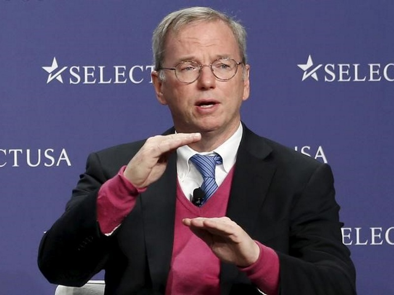 Former Google CEO Eric Schmidt to Head New Pentagon Innovation Board