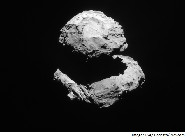 Philae Lander Findings Suggest Comets Were Harbingers of Life on Earth