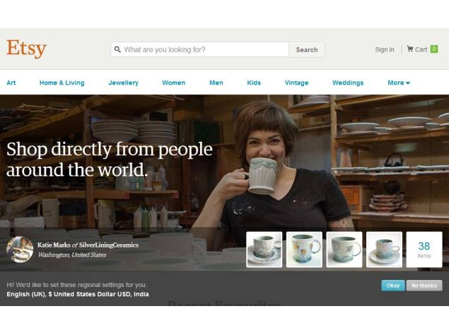 Etsy Buys French Handmade Goods Online Marketplace 'A Little Market'