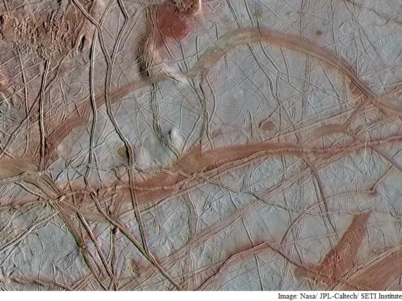 There May Be Life Beneath Europa's Icy Shell: Researchers